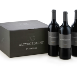 Pinotage Bottle and box